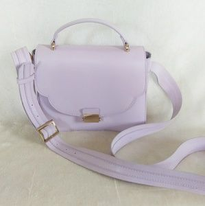 A New Day lavender crossbody purse.